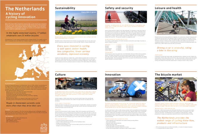 Brochure: The world's cycling experts